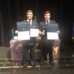 Bridger & Ethan Recognized by Air Force JROTC