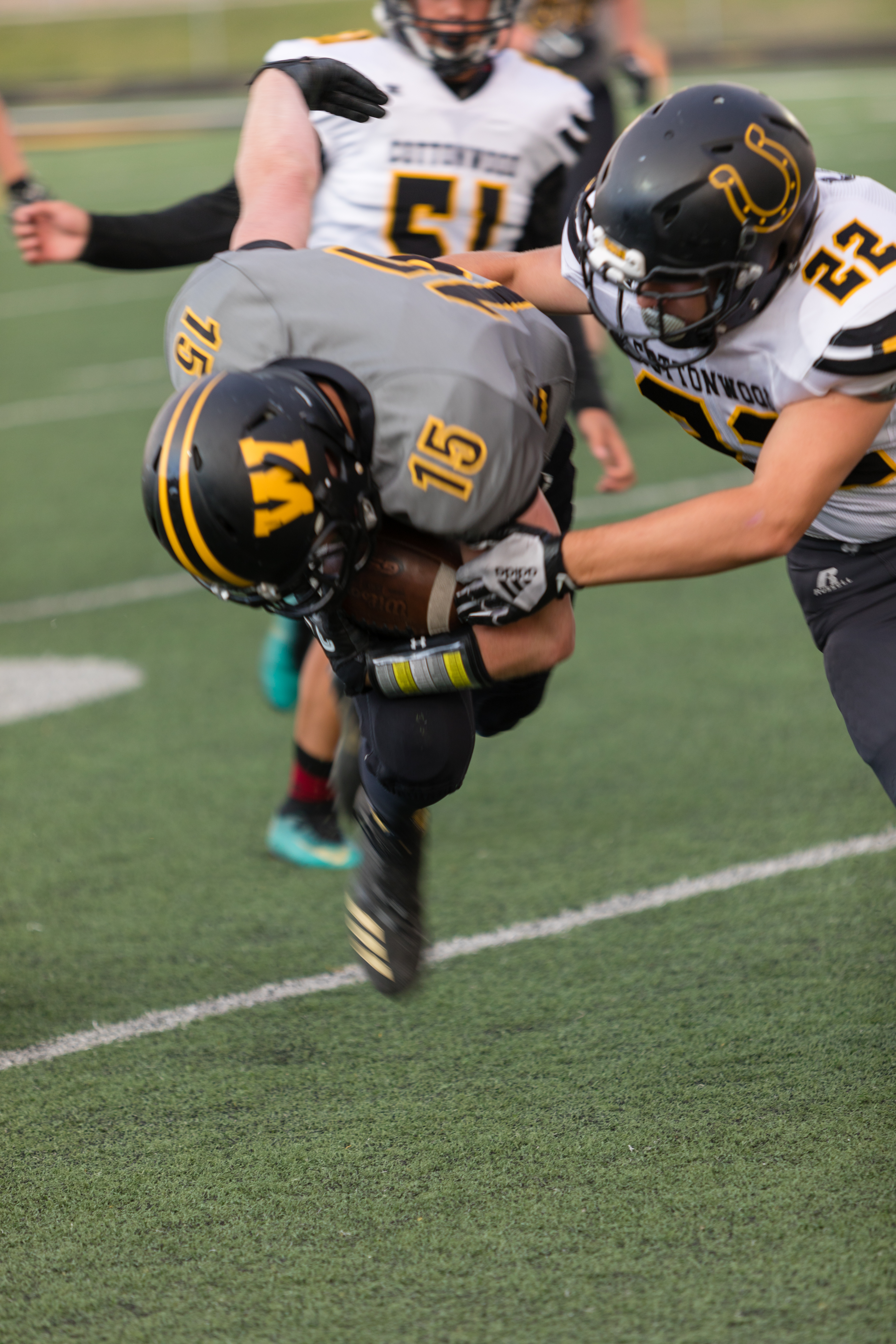 Wasatch Holds off Timpanogos 27-20