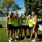 Girl's Tennis plays well in Region Tourney