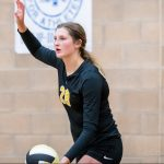 Tori Dorius &  Sydney Ostergaard named to Volleyball All-state teams