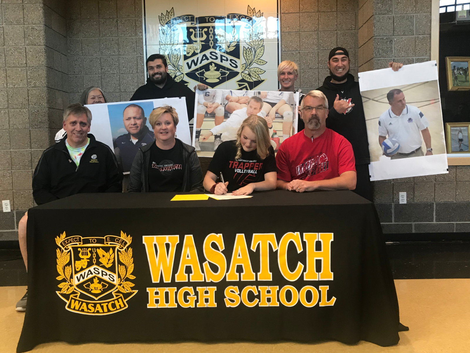 Sidney Ostergaard signs with Northwest College for Volleyball