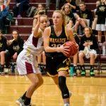 Girls Varsity Basketball falls to Skyridge 49 – 46