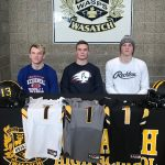 Kaden, Brydger &  Ethan sign letters of Intent