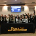 State Champions recognized at Board Meeting