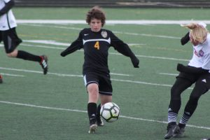 Freshman boys soccer dominated over Timpview 7-0, 4.11.19