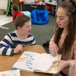 Athlete Council Reads to Heber Valley Elementary Students