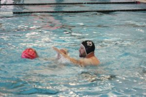 Water Polo ends the season with a fun scrimmage with parents and siblings 5.7.19