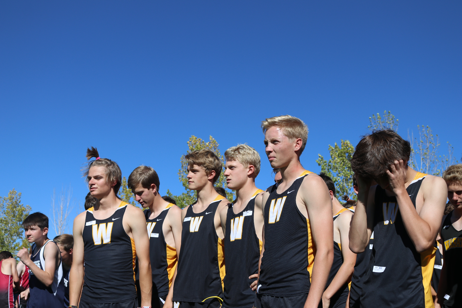 A Boost of Morale for the Cross Country Team at the Uintah Meet