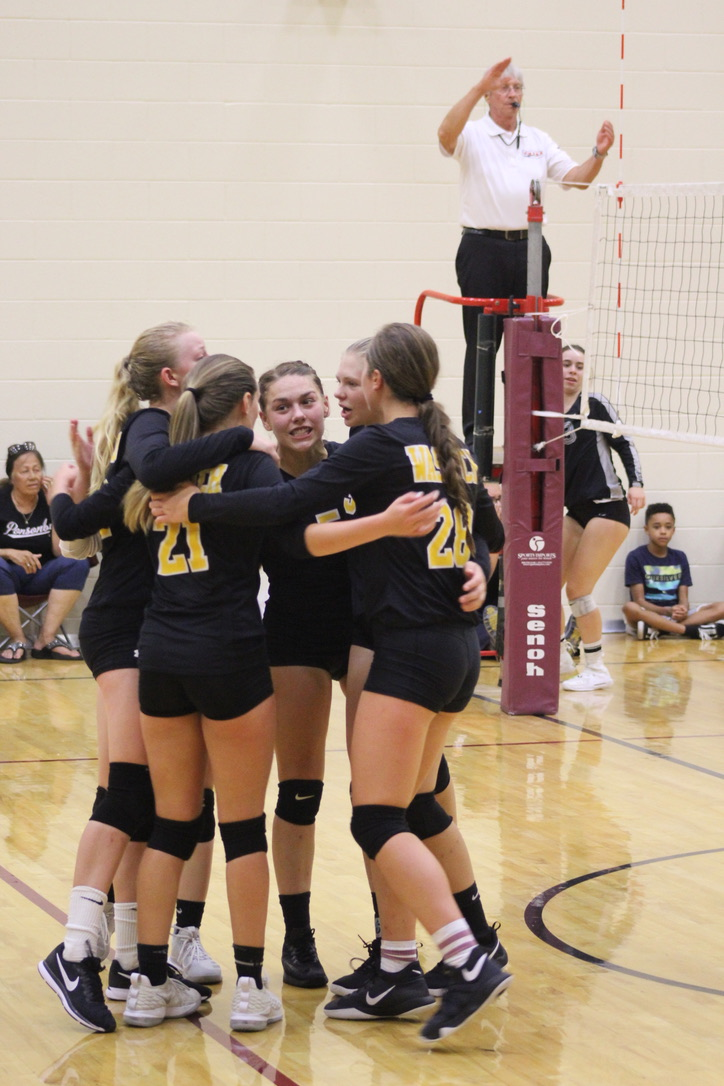WHS Volleyball snags two region wins