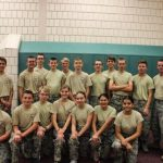 Cadets from Wasatch High School AFJROTC compete at Northridge Monster Mash