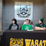 Three Wasps Sign to Play at the Next Level…