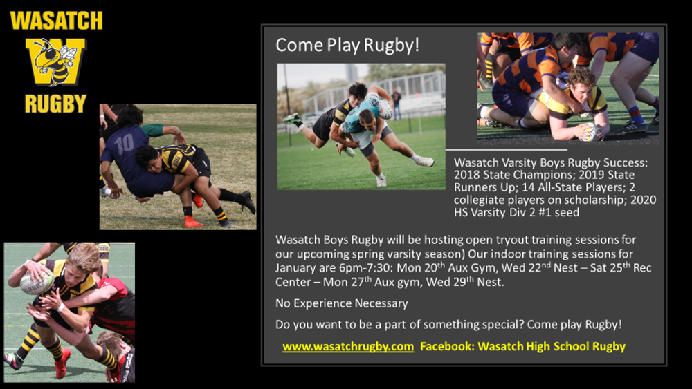 Varsity Rugby is Back in Action!