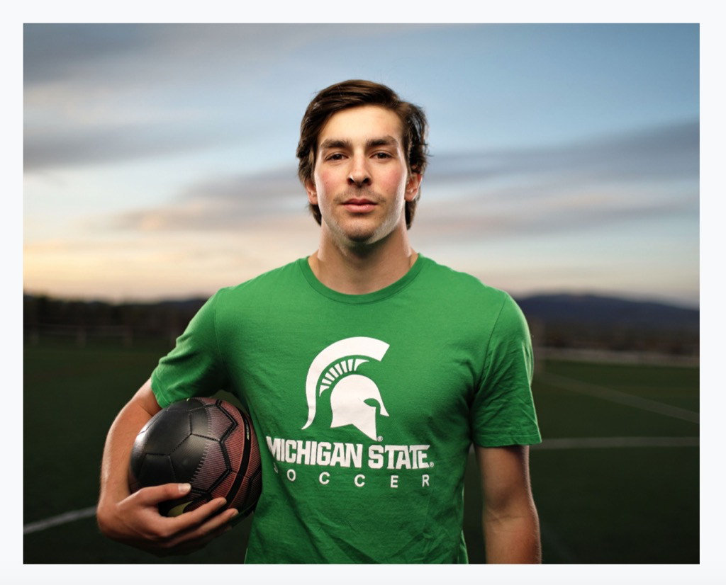 Greyson Mercer to take his Soccer talents to Michigan…