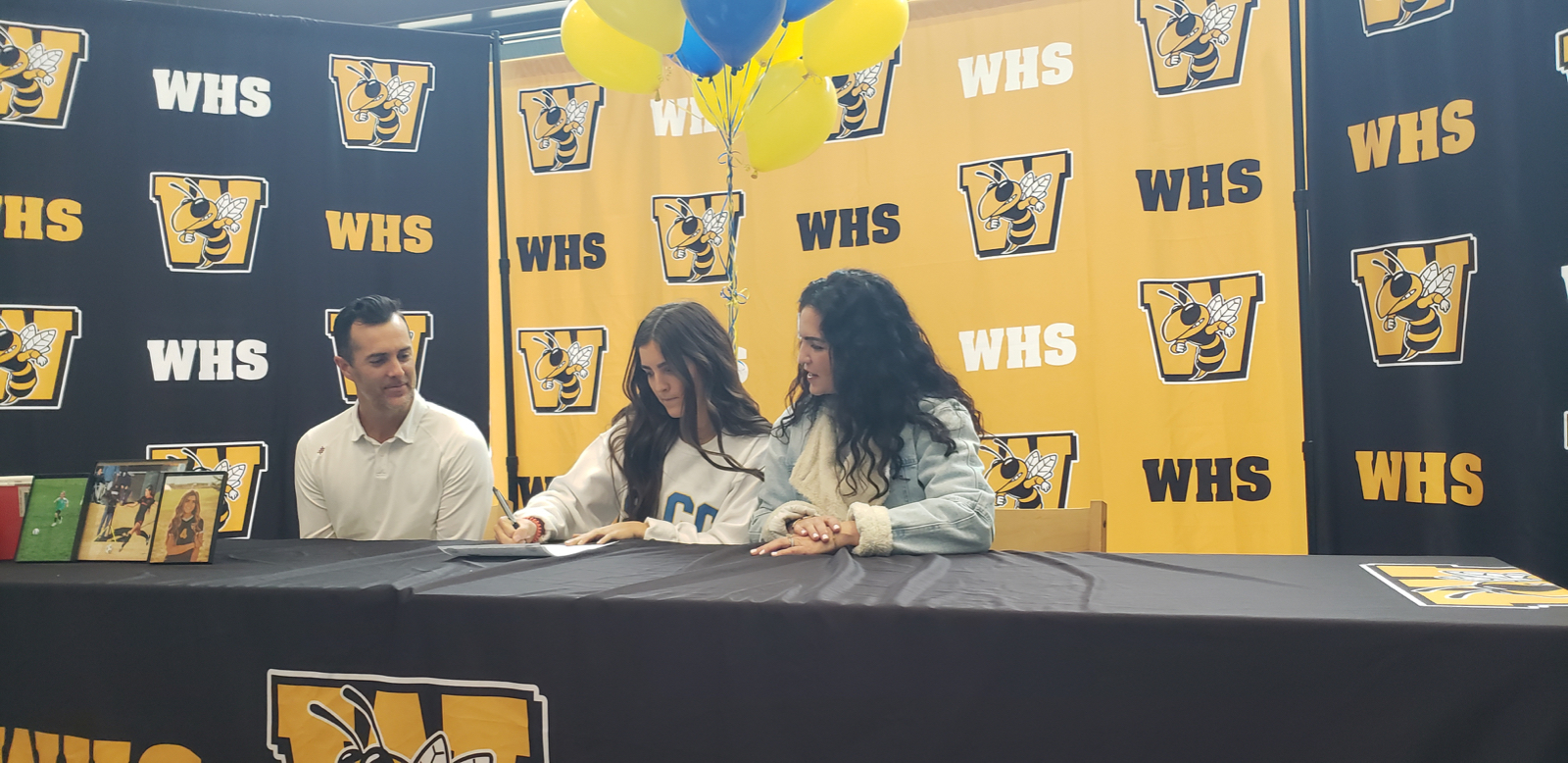 Mary Santiago Signs to play Collegiate Soccer!