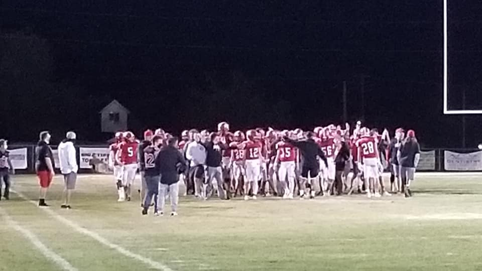 Varsity Football beats Emery 47 – 14 in First Round of Playoffs