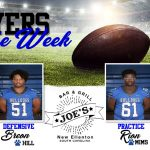 Football: Joe's Grill Players of the Week