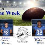 Week 6: Joe's Grill Players of the Week