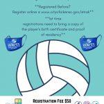 City of Aiken 2021 Winter Volleyball