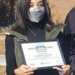 Laurie Lamar receives Scholar-Athlete Recognition
