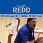 Chasen Redd: Region Coach of the Year