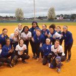 Lady Dogs Softball Post 17 Runs