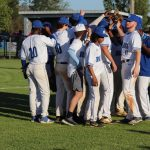 Varsity Baseball Blanks War Eagles