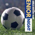 Soccer Girl's Senior Night