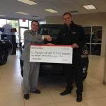 Dick Scott Dodge donates to Plymouth Football
