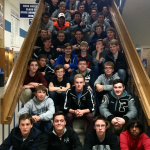 Plymouth Swimmers Rolling in Division