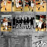 Unity 2014-15 Roster, Schedule Poster Released