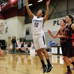 Girls Basketball Fights for Fourth-Quarter Victory at SL East