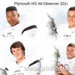 Jordan, Stella, Raymond, Youssef First Team Football All-Area