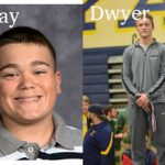 Ray, Dwyer Are Male Athletes of the Week