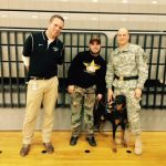 Plymouth Athletics Raises Money for Service Dogs