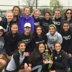 Plymouth High School Girls Varsity Tennis finishes 1st place