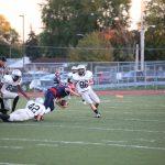 Plymouth High School Freshman Football beat Franklin High School 42-28
