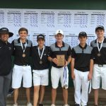 Plymouth High School Boys Varsity Golf finishes 3rd place