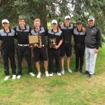 Plymouth High School Boys Varsity Golf finishes 1st place