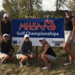 Plymouth Girls Golf Finishes 5th