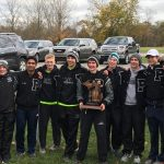 Plymouth High School Boys Varsity Cross Country finishes 1st place