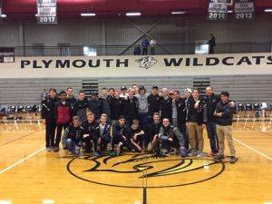 Plymouth Boys Cross Country – State Runner Up Celebration