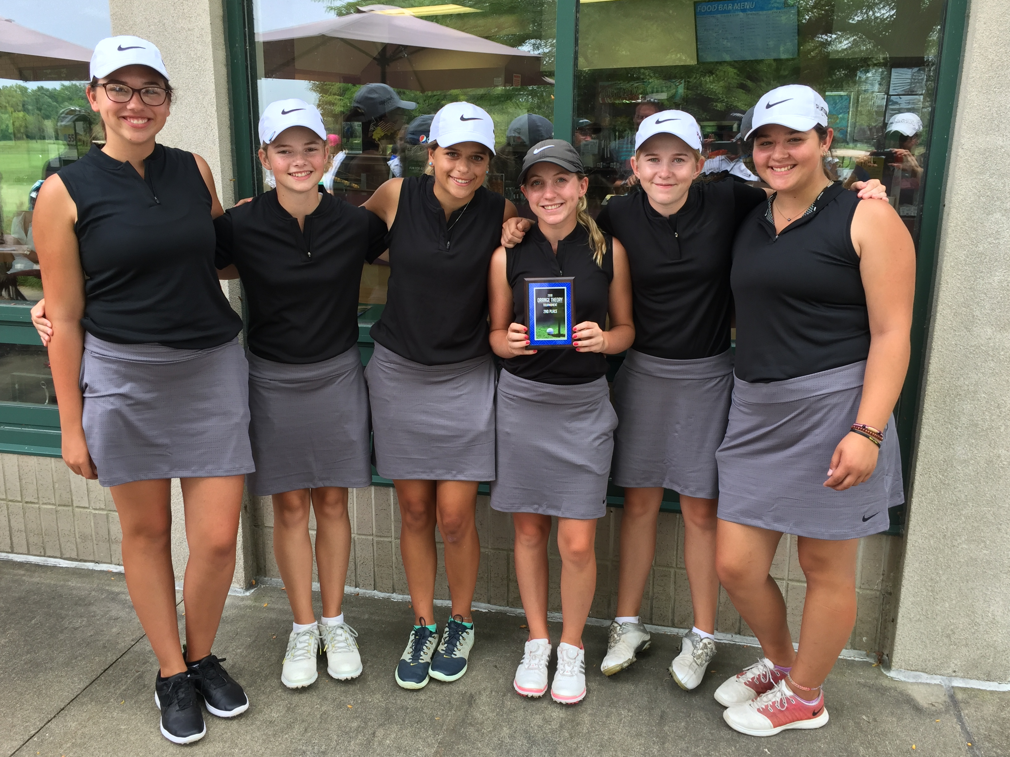 Plymouth Girls Golf Places Second