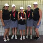 Girls Varsity Golf finishes 2nd to Bloomfield Hills