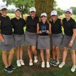 Girls Varsity Golf finishes 2nd place at (Sentech Services Girls Golf Tournament)