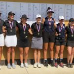 Girls Varsity Golf finishes 2nd place at Travis Pointe CC tournament
