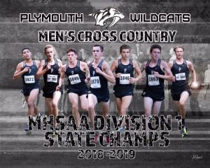 Plymouth Boys Cross Country State Championship