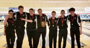 Plymouth Bowling at Divine Child Invitational 2/1/19