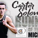Carter Solomon Wins Michigan Gatorade Runner of the Year