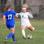 Plymouth Girls Soccer vs. Salem 4/9/19 Photos by JK Portraits