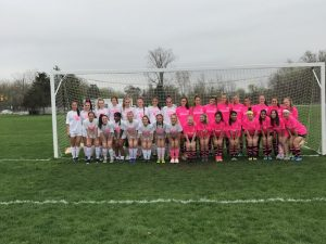Salem at Plymouth Girls Soccer 5/2  – Cancer Awareness Game